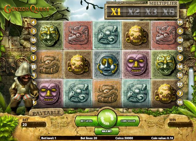 Gonzos quest spel